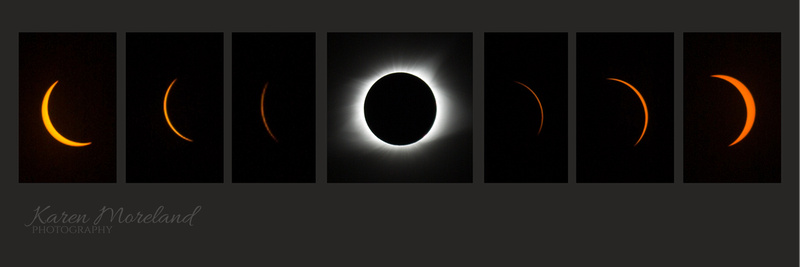Eclipse 2017 over Hartsville, Tennessee
